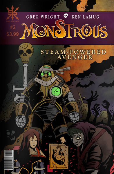 Monstrous STEAM POWERED AVENGER